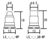 LEDテープライト[屋内用]寸法
