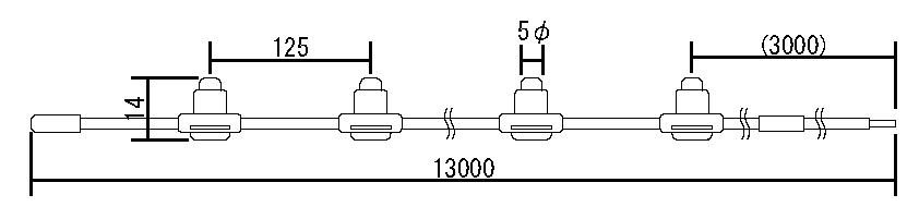 LEDラインモジュール[屋外・屋内用]寸法