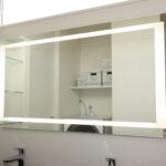 鏡照明(女優ミラー)個人住宅 洗面所の場合